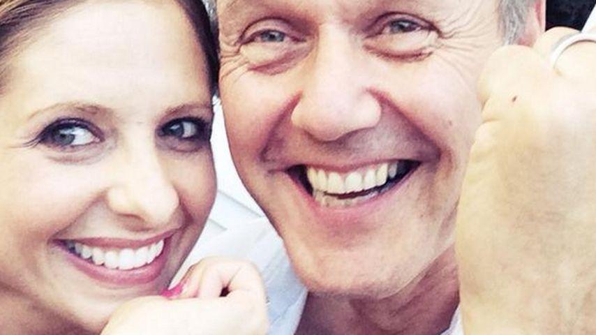 """Sarah Michelle Gellar: Reunion mit ihrem """"Wächter"""""""