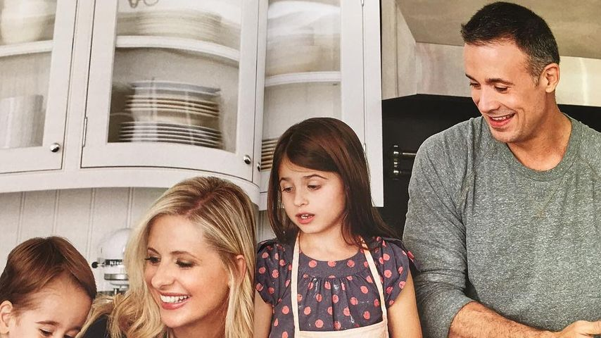 Sarah Michelle Gellar und Freddie Prinze, Jr. mit ihren Kindern