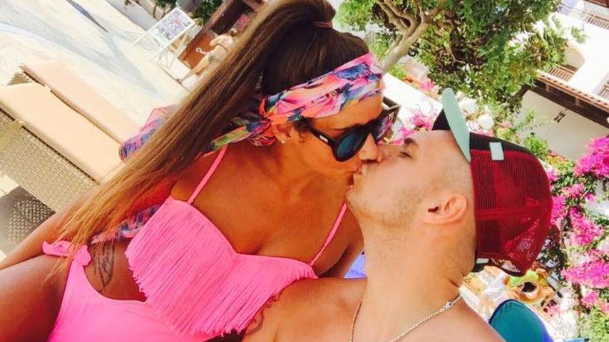 Sarah und Pietro Lombardi auf Kreta