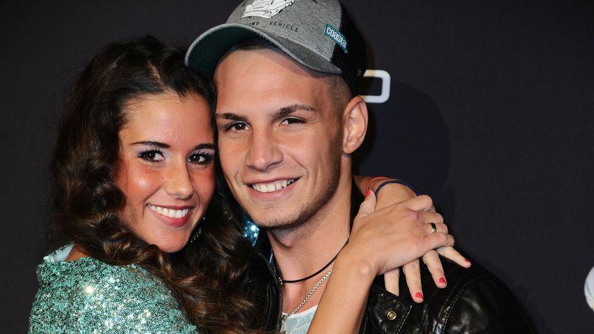 """Sarah und Pietro Lombardi bei der Premiere des Musicals """"Bodyguard"""" in Köln"""