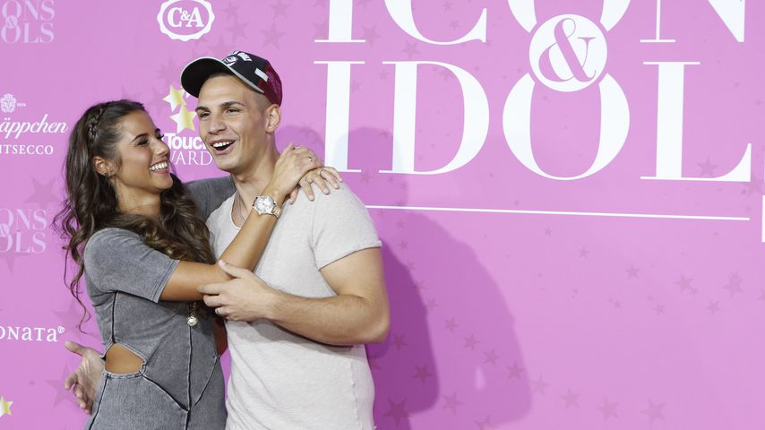 Sarah und Pietro Lombardi im September 2016