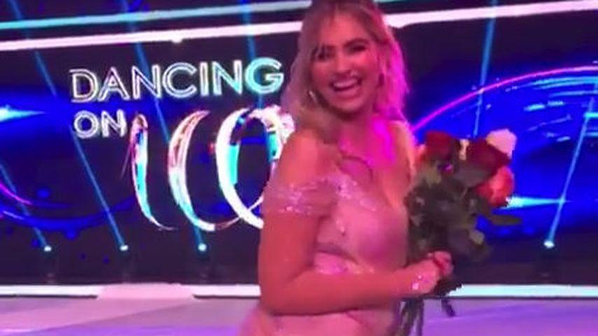 "Sarina Nowak bei ""Dancing on Ice"""