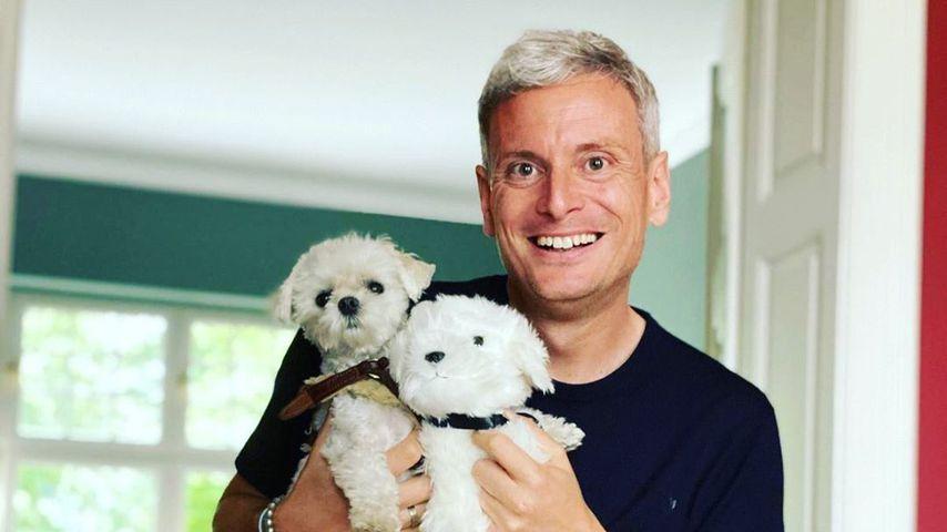 Sascha Heyna mit zwei Hunden