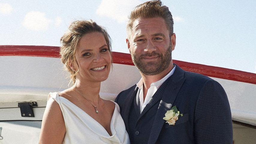 Sasha und seine Julia bei ihrer Hochzeit in Hamburg 2015