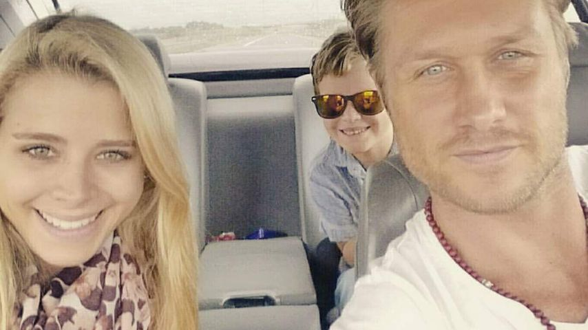 Saskia Atzerodt und Nico Schwanz im Auto