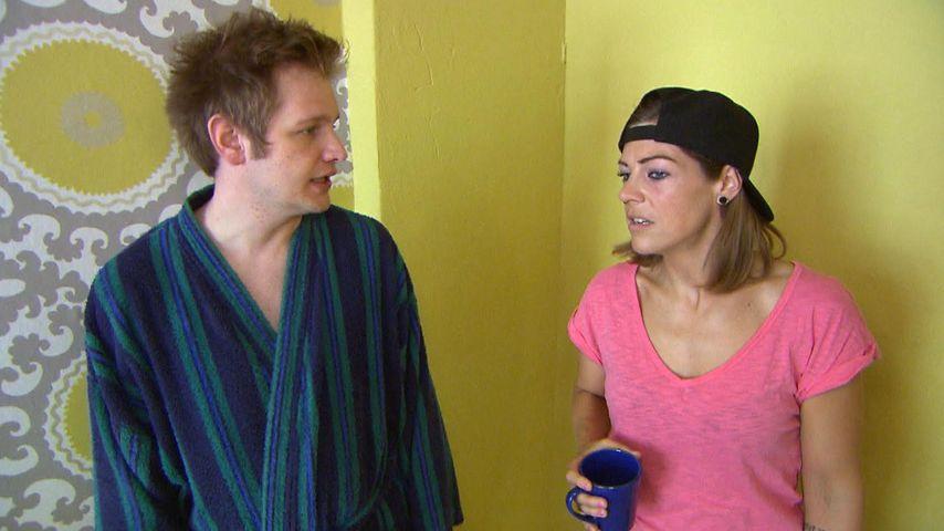 """Saskia Beecks als Alina Schmitts und Falko Ochsenknecht als Ole Peters bei """"Berlin - Tag und Nacht"""""""