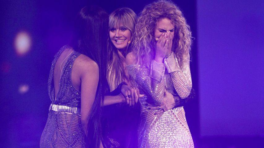 "Sayana, Heidi Klum und Simone, ""Germany's next Topmodel""-Finale 2019"