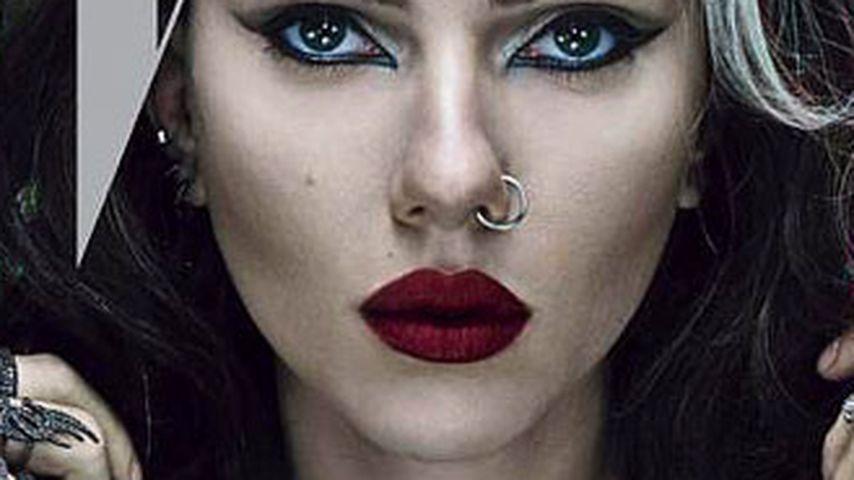 Gothic-Braut: Scarlett Johansson auf dem W-Magazin