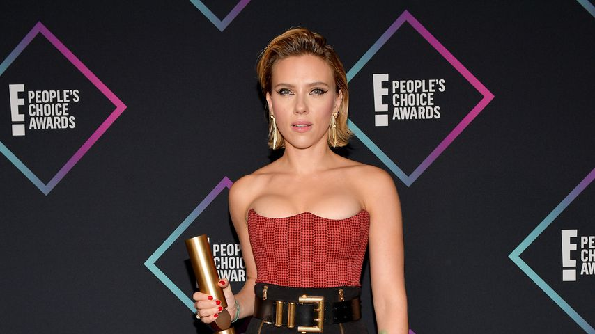 Scarlett Johansson bei den People's Choice Awards 2018