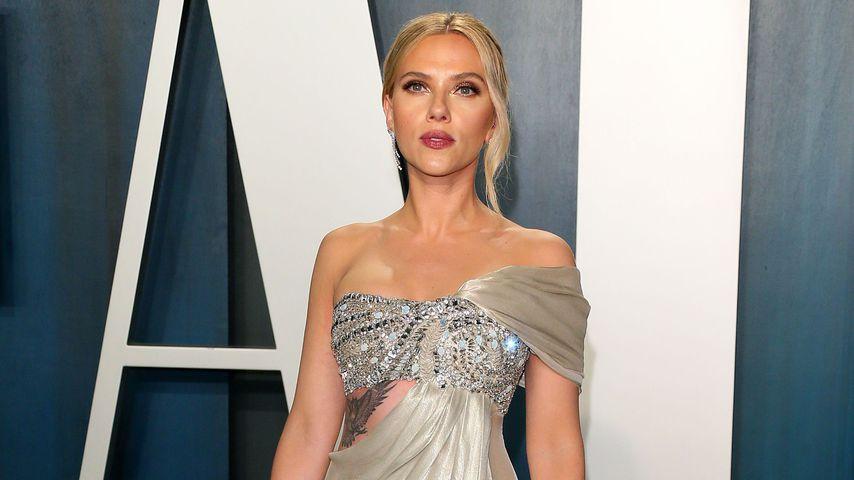 Scarlett Johansson bei der Vanity Fair Oscar Party im Jahr 2020