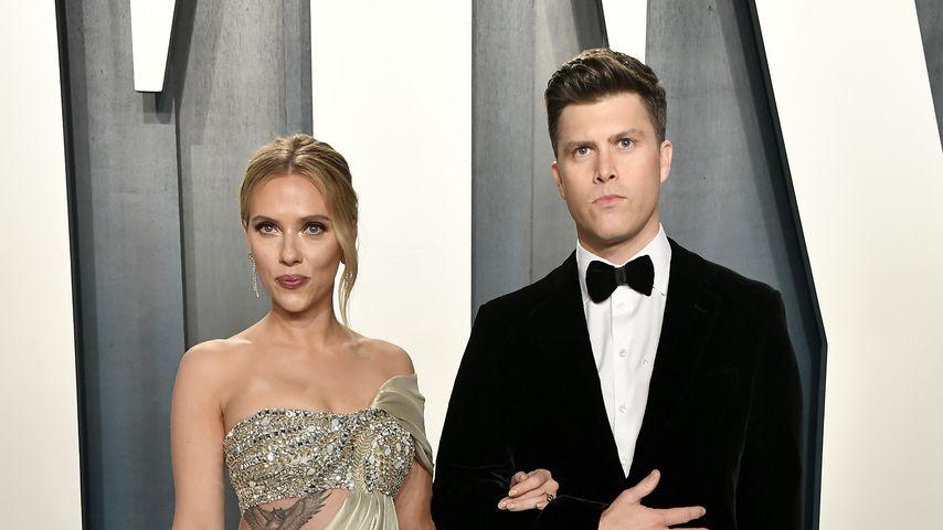 Scarlett Johansson und ihr Mann Colin Jost