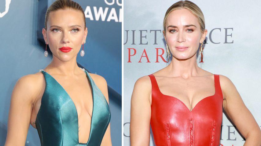 Nicht Scarlett! Emily Blunt sollte Black Widow darstellen