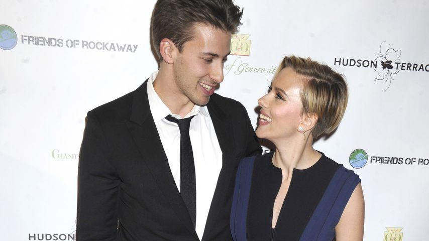 Scarlett Johansson und ihr Bruder Hunter