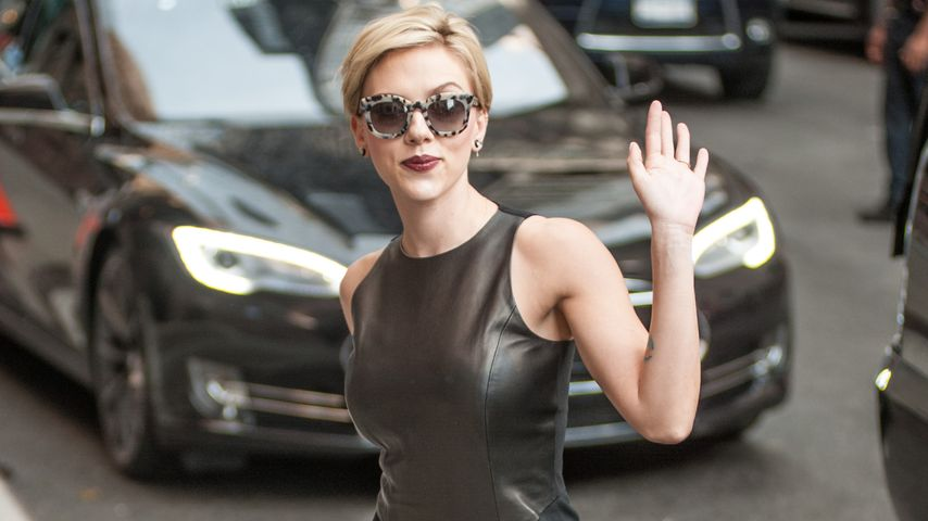 Scarlett Johansson unterwegs in New York