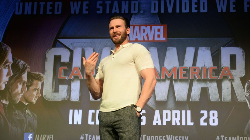 """Captain America"" Chris Evans"