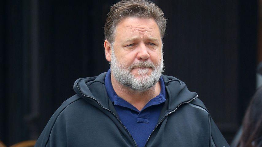 Vor Heiratsantrag: Russell Crowe will erst mal abnehmen