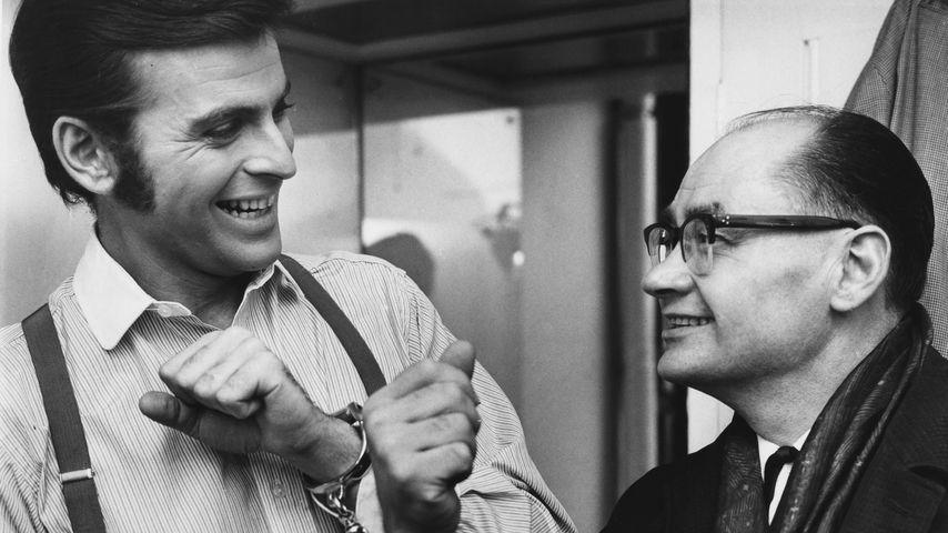 Schauspieler Stuart Damon (links) und Alfred George Hinds im Jahr 1966