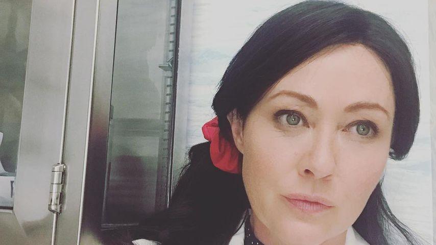 """Shannen Doherty am Filmset zu """"Heathers"""""""