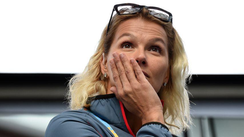 Ehemalige Profi-Schwimmerin Franziska van Almsick