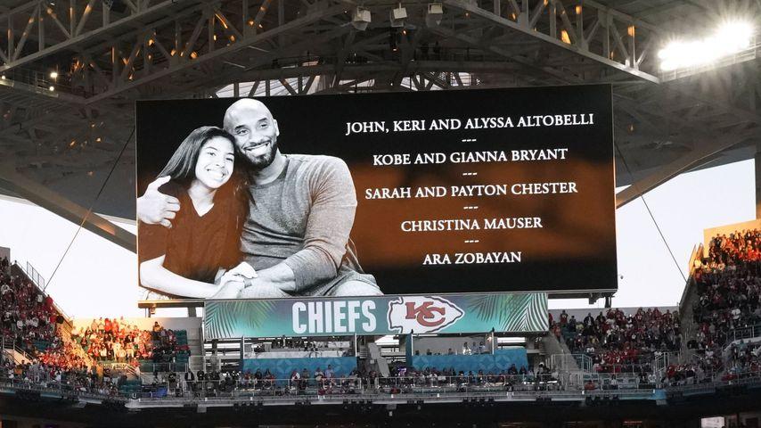 Schweigeminute für Gianna und Kobe Bryant beim Super Bowl 2020