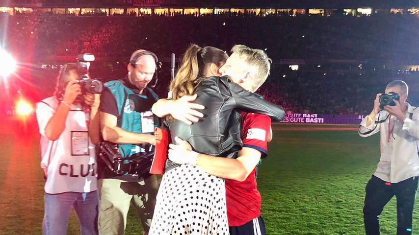 Schweinsteigers Bayern-Abschied: So süß gratuliert ihm Ana