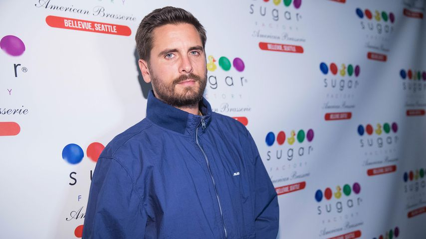 Scott Disick in der Sugar Factory American Brassiere