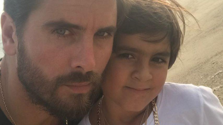 Scott Disick mit seinem Sohn Mason