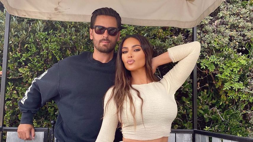 Scott Disick und Kim Kardashian, 2020
