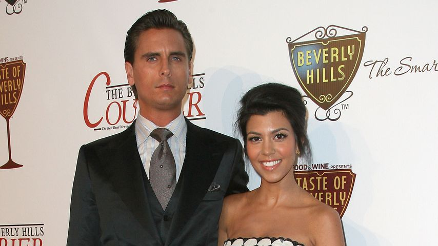 Scott Disick und Kourtney Kardashianin Beverly Hills
