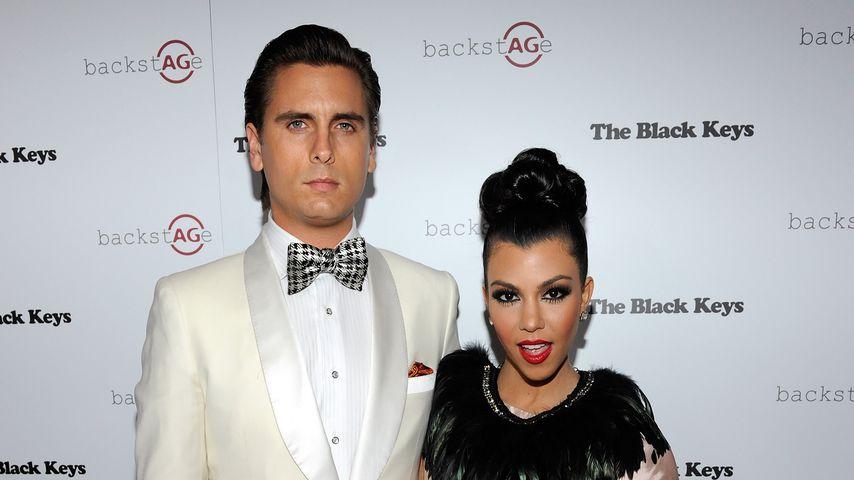 Scott Disick und Kourtney Kardashian im Februar 2011 in Las Vegas