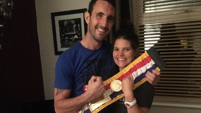 Scott Westgarth und seine Freundin Natalie