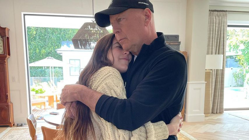 Scout LaRue Willis mit ihrem Vater Bruce Willis