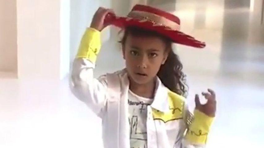 Mit Musikvideo: Kim K.s Tochter North (5) wird zum Netz-Hit!