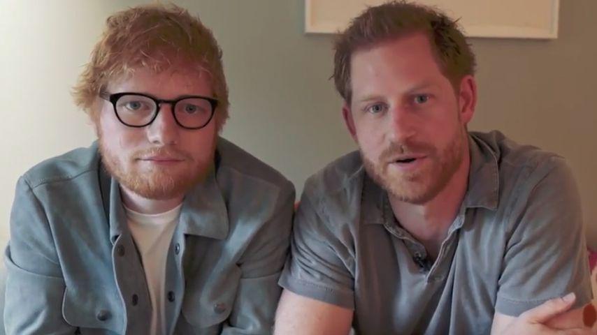 Hier kämpfen Prinz Harry und Ed Sheeran für den guten Zweck