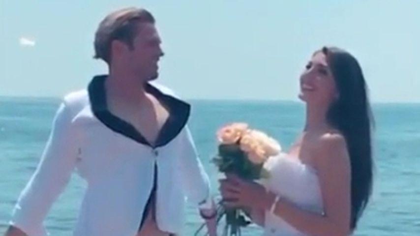 Mit Brautmode am Meer: Haben Yeliz & Johannes geheiratet?