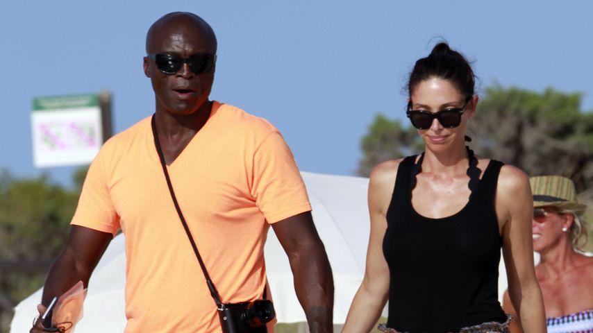 Kein Zweifel mehr: Seal & Erica Packer sind ein Paar!