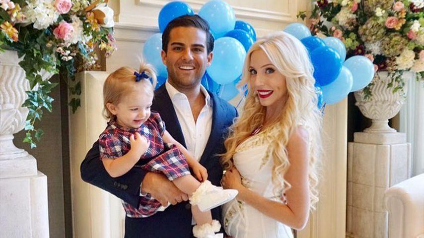 Sean und Casey Brown mit ihrer gemeinsamen Tochter Kensington