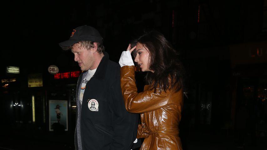 Sebastian Bear-McClard und Emily Ratajkowski, Oktober 2018