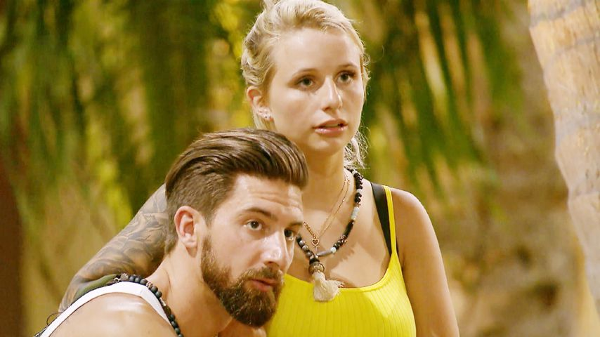 """Bachelor in Paradise""-Teilnehmer Sebastian Fobe und Carina Spack"