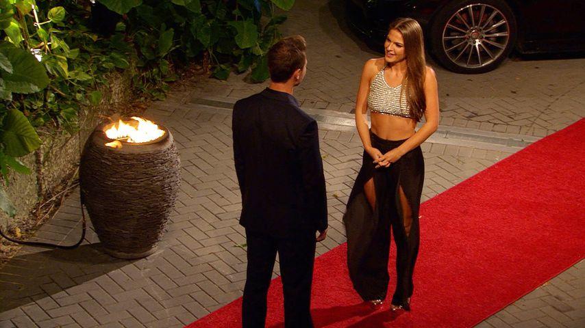 Sebastian Pannek und Bachelor-Kandidatin Tina