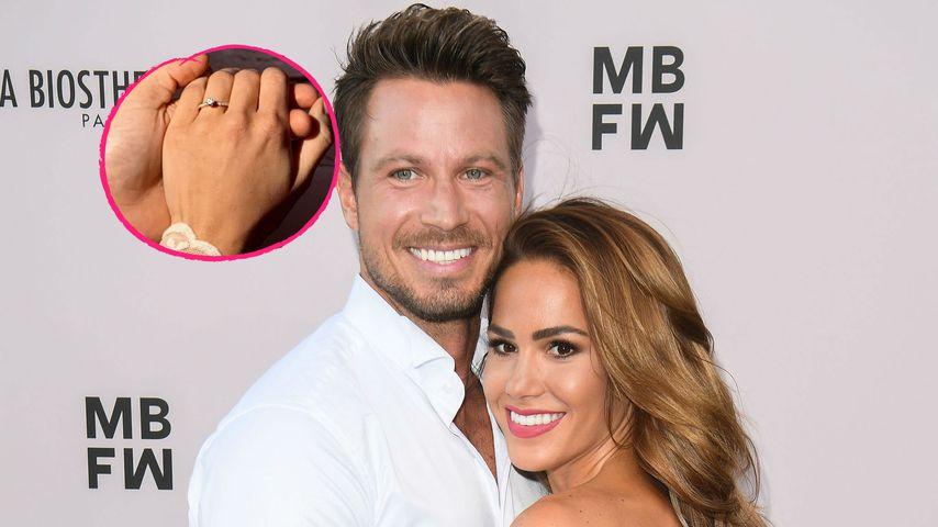 Vor Geburt ihres Babys: Sebastian und Angelina sind verlobt!