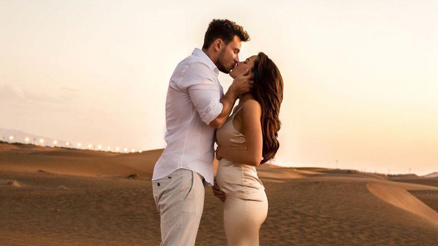 Sebastian Pannek und Angelina Heger in Dubai, 2019