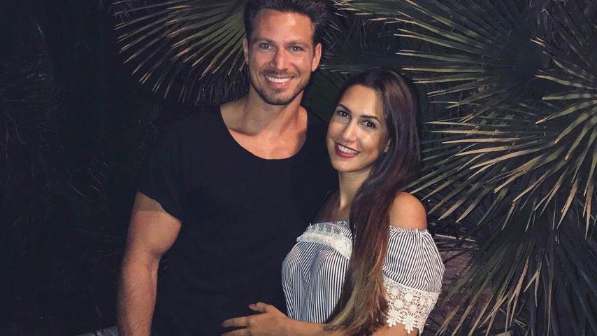 Sebastian Pannek und Clea-Lacy in Marbella