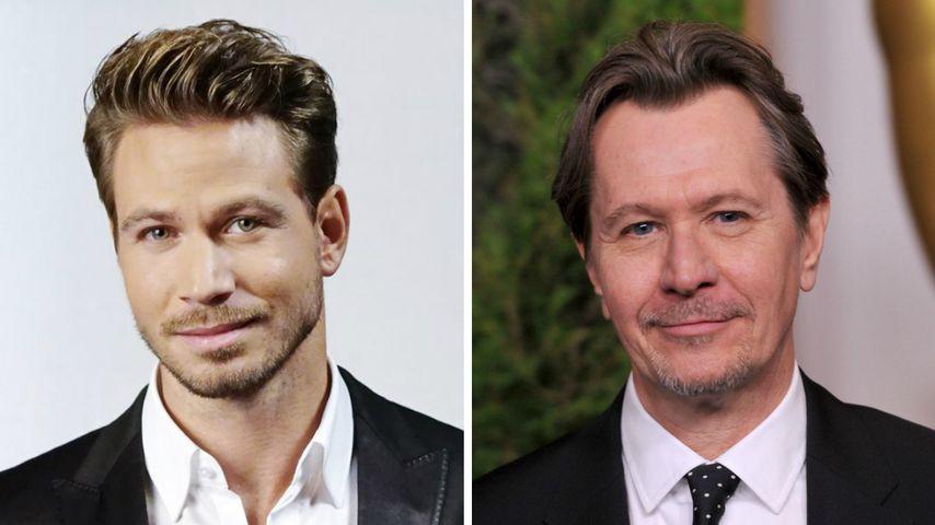Verrückt! Bachelor-Sebastian sieht ja aus wie Gary Oldman!
