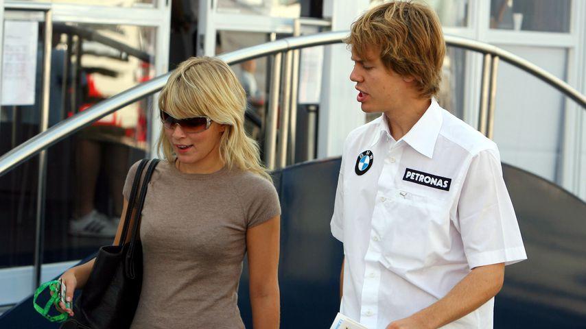 Sebastian Vettel und seine Hanna im September 2006
