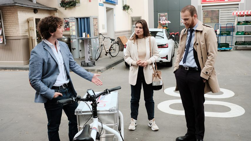 Sebastian (Jonathan Elias Weiske), Vivien (Sharon Berlinghoff) und Tobias (Patrick Müller)