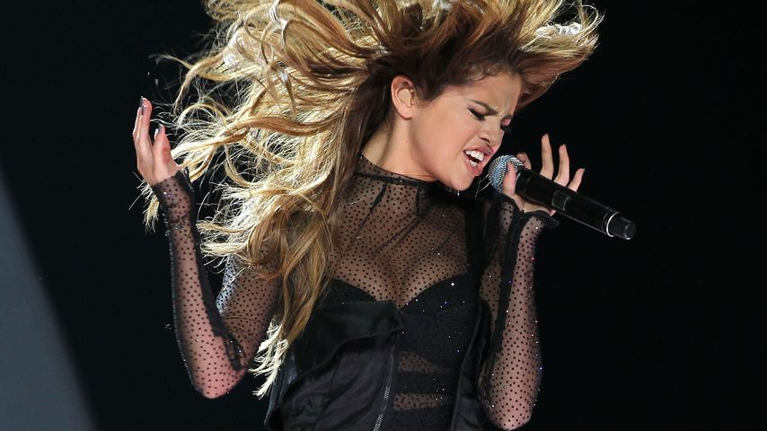 "Selena Gomez bei ihrem ""Revival""-Tour-Konzert in Los Angeles"