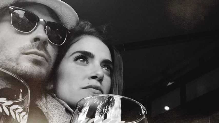 Ian Somerhalder und Nikki Reed in Paris