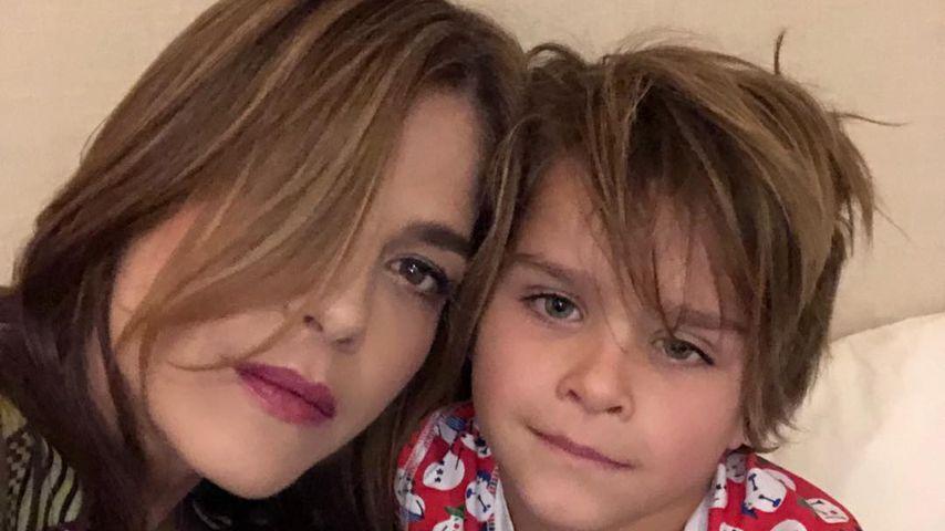 Selma Blair und ihr Sohn, Januar 2018