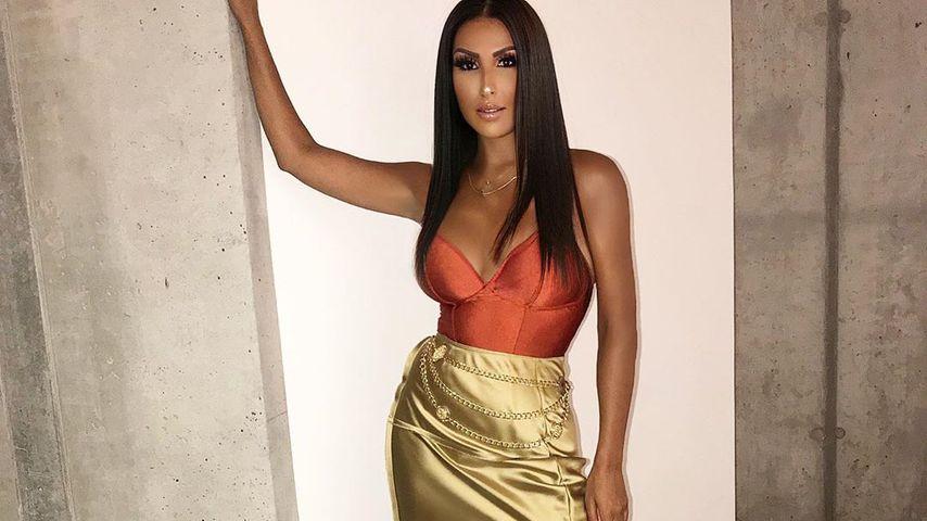 Kim-Kardashian-Lookalike: So ist Sennas Twin-Foto entstanden